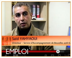 Saïd El Yahyaoui sur Tele Bruxelles
